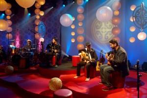 Foto de Divulgação do DVD Rosa de Saron - Acústico e Ao vivo