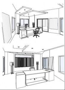 Desenho do Novo Estúdio Codimuc