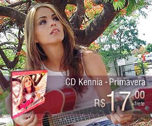 CD Kenia - Primavera - Compre já! - Apenas R$ 17,00