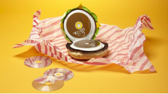 Troque um big mac por um CD