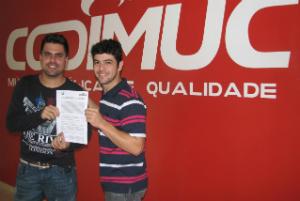 Cleiton Saraiva assina com a Codimuc
