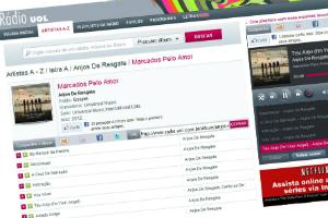 Anjos na Rádio Uol