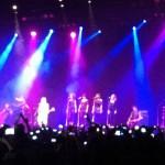 Anjos de Resgate no show de Taylor Swift