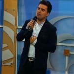 Cleiton Saraiva no programa do Pe. Juarez