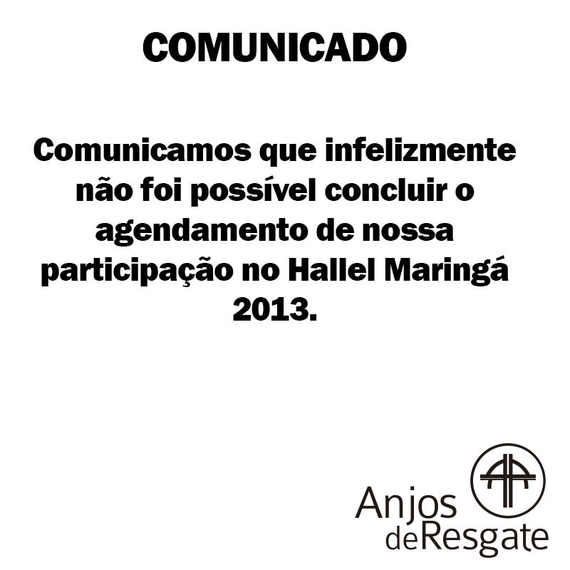 CANCELAMENTO HALLEL